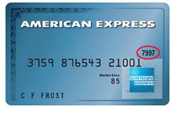 Visa Credit Card Number and Security Code