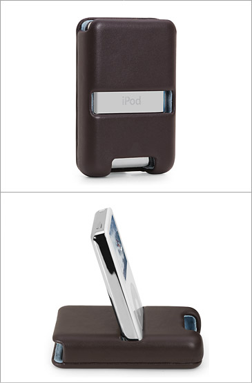Brenthaven Flip Case for 60GB and 80GB iPod, from The Apple Store