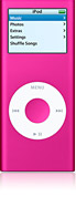 Refurbished iPod nano, 4GB - Pink