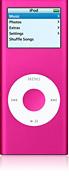 Refurbished iPod nano, 4GB - Pink