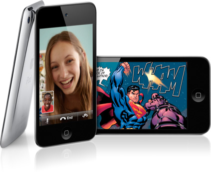 ipodtouch hero - Nouveauté Apple : l'iPhone Touch ! Exclusivement en Belgique !