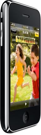للتحكم جوال iPhone iPod touch